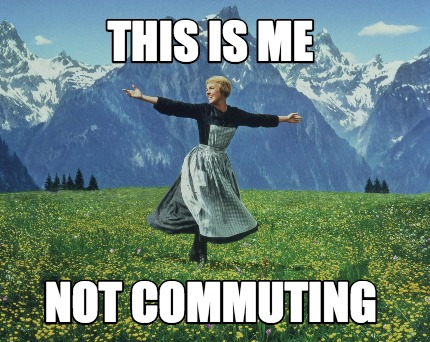 I Hate Commuting | No I'm Not Dead, I Just Suck at Time Management.