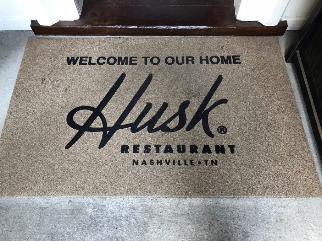 I Heart Nashville, So Hard | Husk Welcome Mat