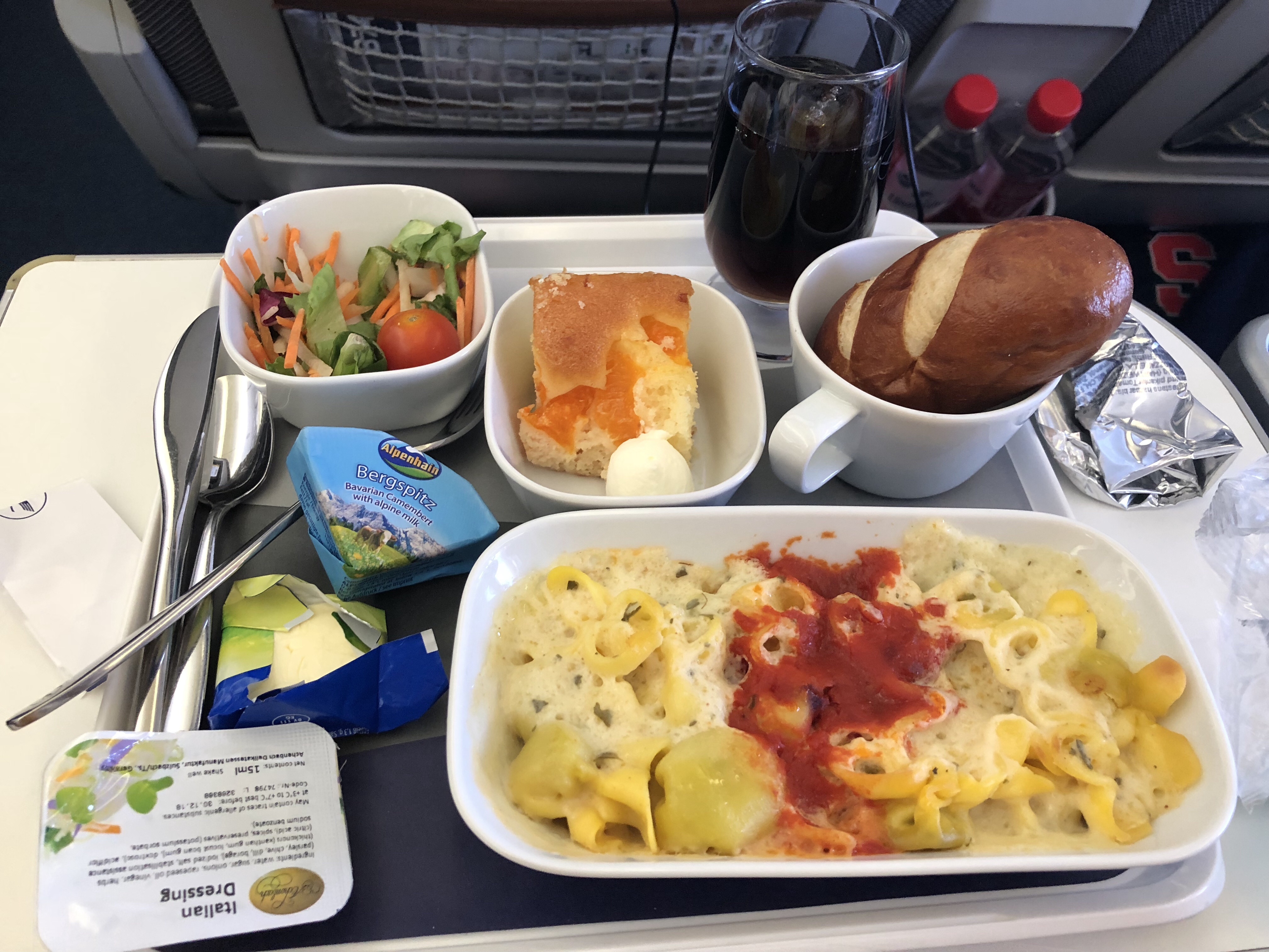 Prague Was Nothing Like I Expected | Airplane Meal