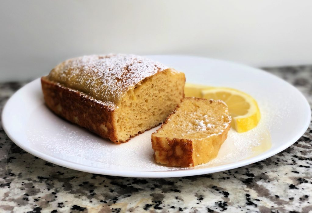 Healthy Lemon Soaked Cake - Only 7 Points for the Whole Thing!