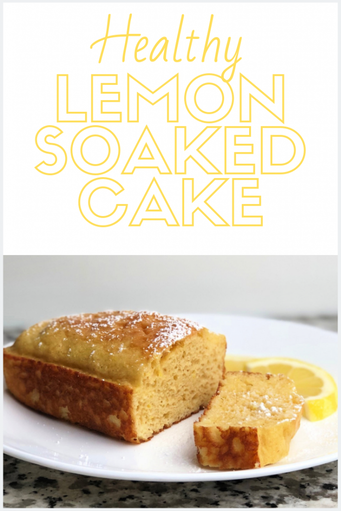 Healthy Lemon Cake - Only 7 Points for the Whole Thing!