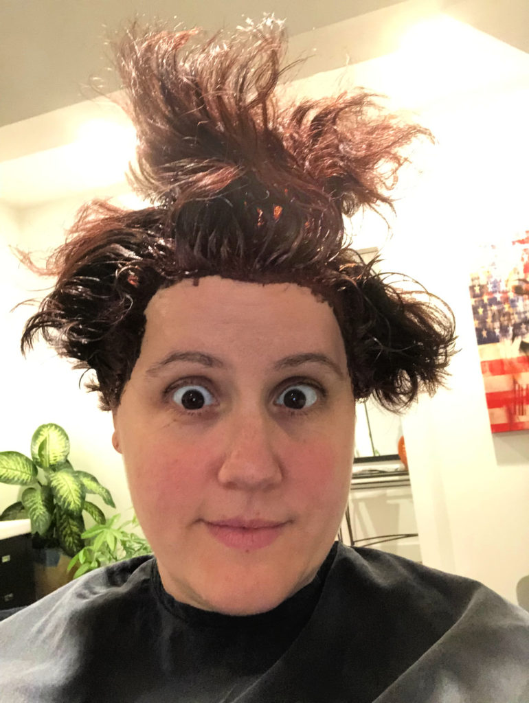 Getting salon dyed